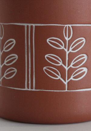 kubek ceramiczny liscie akacji Green Village 3
