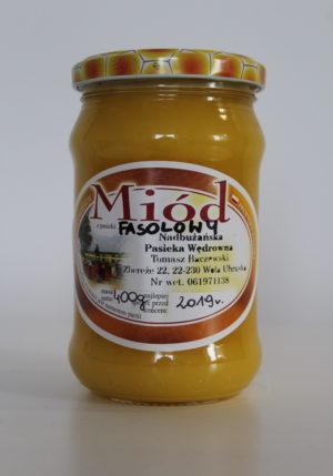 miód fasolowy Baczewski 400g