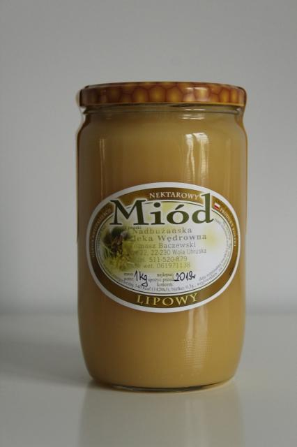 miód lipowy 1 kg