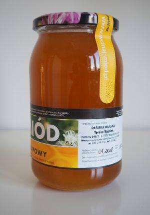 miód lipowy 1.3 kg
