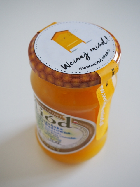 miód lipowy 400 g