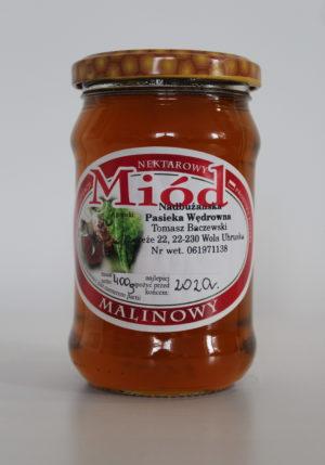 miód malinowy Baczewski 400g