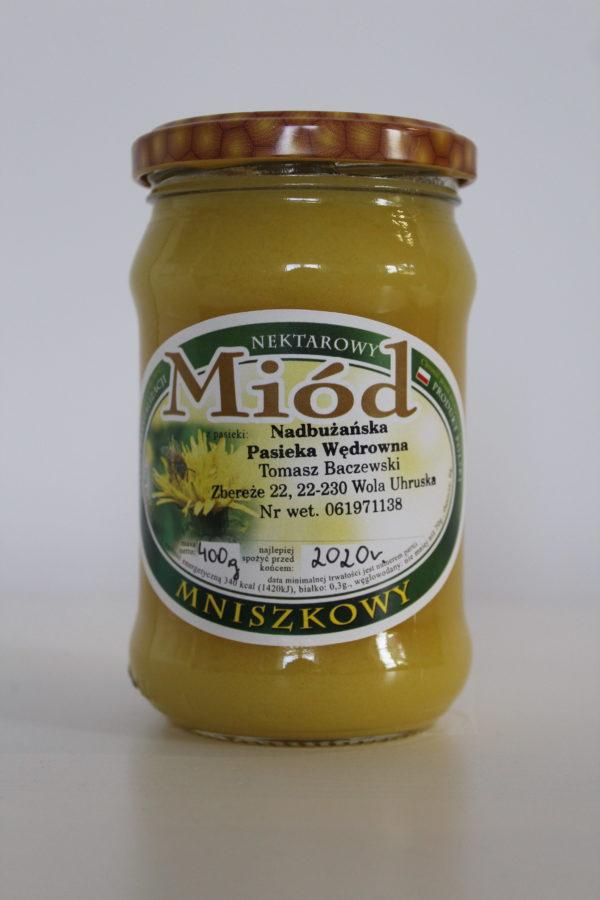miód mniszkowy Baczewski 400g