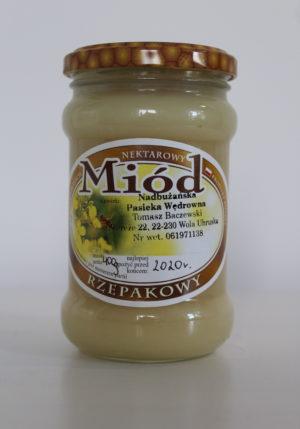 miód rzepakowy Baczewski 400g
