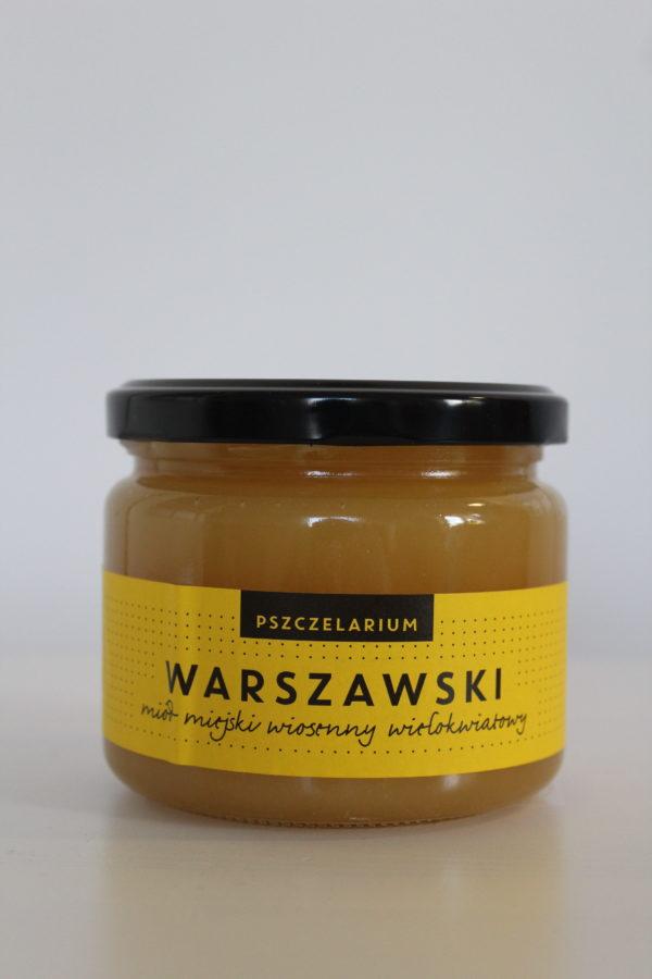 miód warszawski wiosenny wielokwiatowy Pszczelarium