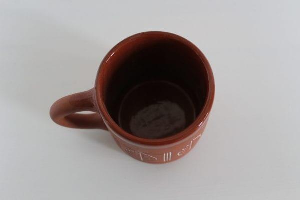 kubek ceramiczny liście lipy Green Village-2