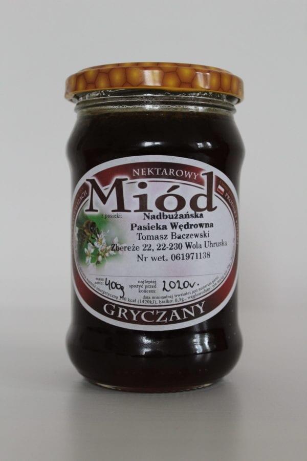 miód gryczany Baczewski 400g