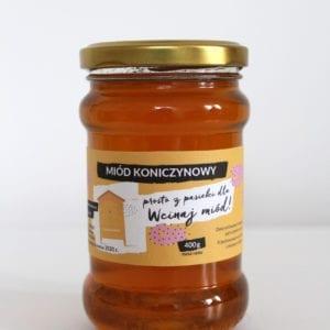 miód koniczynowy Zarzycki 400g 2017