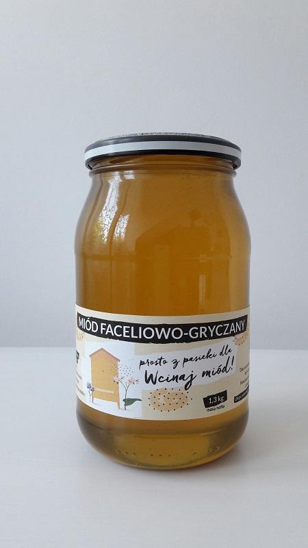 miód faceliowo-gryczany
